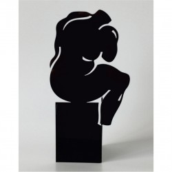 Sculpture le Penseur | Black