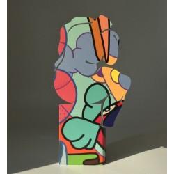 le Penseur | Colored - Ht 30cm
