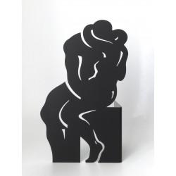 le Baiser | Black - Ht 30cm