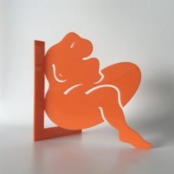 Elle  | Orange - Ht 23cm