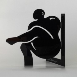 Sculpture Lui  | Black